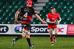Ben Howard of Worcester Warriors in action - Mandatory by-line: Craig Thomas/JMP - 02/02/2018 - RUGBY - Rodney Parade - Newport, Gwent, Wales - Dragons v Worcester Warriors - Anglo Welsh Cup