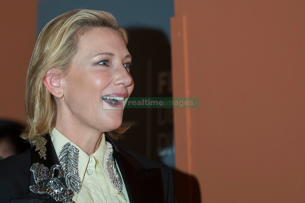 "Photocall for ""The House With a Clock in Its Walls"" during the 13th Rome Film Fest at Auditorium Parco Della Musica in Rome on October 19, 2018. 19 Oct 2018 Pictured: Cate Blanchett poses for photographer during the photocall for ""The House With a Clock in Its Walls"" at the 13th Rome Film Fest at Auditorium Parco Della Musica in Rome on October 18, 2018. Photo credit: Stefano Costantino / MEGA TheMegaAgency.com +1 888 505 6342"