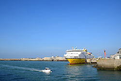 Transmancheferries ferry to Newhaven, Dieppe, France 2021