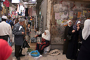 Israel, Jerusalem, Market in old city
