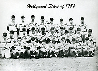 1954 Hollywood Stars Baseball Team at Gilmore Field