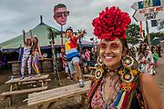 The 2017 Glastonbury Festival, Worthy Farm. Glastonbury, 23 June 2017