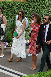 Pippa and Carole Middleton at The All England Club<br />