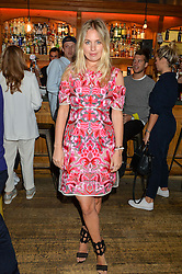 MARISSA MONTGOMERY at a quiz night hosted by Zoe Jordan to celebrate the launch of her men's ZJKNITLAB collection held at The Larrick Pub, 32 Crawford Place, London on 20th April 2016.