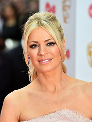 Tess Daly arriving for the Virgin TV British Academy Television Awards 2017 held at Festival Hall at Southbank Centre, London. PRESS ASSOCIATION Photo. Picture date: Sunday May 14, 2017. See PA story SHOWBIZ Bafta. Photo credit should read: Matt Crossick/PA Wire
