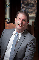 photo ©2014 Tom Wagner, all rights reserved, all moral rights asserted ©Tom Wagner 2014. <br /> Portrait of Tom Clinton, new Executive Director of Community Media Center, (CMC), and is the Co founder of Site:Lab in Grand Rapids, Michigan.