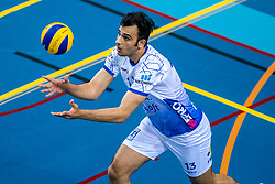 Hossein Ghanbari of Lycurgus in action during the last final league match between Draisma Dynamo vs. Amysoft Lycurgus on April 25, 2021 in Apeldoorn.