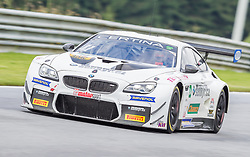 10.06.2017, Red Bull Ring, Spielberg, AUT, ADAC GT Masters, Spielberg, 1. Rennen, im Bild Jakub Knoll (CZE)/Michael Fischer (AUT) Senkyt Motorsport // Czech ADAC GT Masters driver Jakub Knoll/Austrian ADAC GT Masters driver Michael Fischer of Senkyt Motorsport during the 1st race of the ADAC GT Masters at the Red Bull Ring in Spielberg, Austria on 2017/06/10. EXPA Pictures © 2017, PhotoCredit: EXPA/ Dominik Angerer