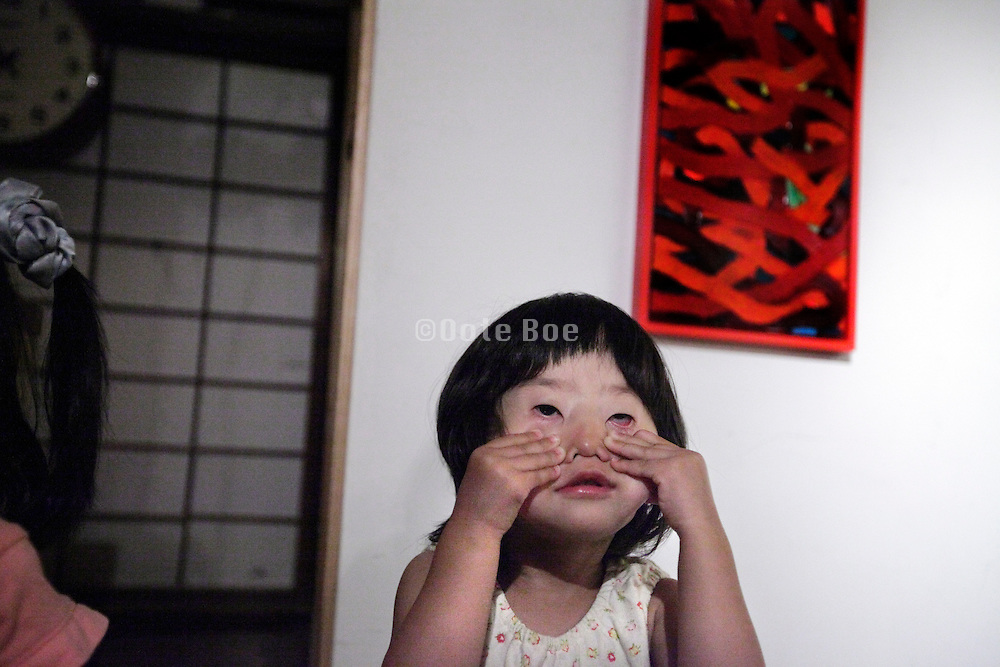 Japan a child's way of saying I do not like you