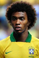 Football Fifa Brazil 2014 World Cup / <br /> Brazil National Team - <br /> Willian Borges da Silva of Brazil