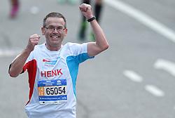 01-11-2015 USA: NYC Marathon We Run 2 Change Diabetes day 4, New York<br /> De dag van de marathon, 42 km en 195 meter door de straten van Staten Island, Brooklyn, Queens, The Bronx en Manhattan / Henk