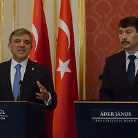 Janos Ader hosts presidents' visit to Hungary