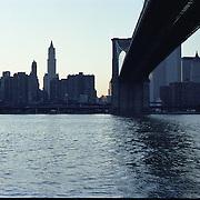 Down under the Brooklyn Bridge