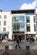 Guildhall shopping centre, High Street, Exeter, Devon, England, UK