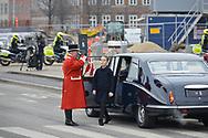20.02.2018. Copenhagen, Denmark. <br /> Princess Isabella's arrival to Christiansborg Palace Church. <br /> Photo: Ricardo Ramirez.