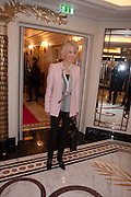 JOANNA TROLLOPE, The Sky South Bank Arts Awards, Dorchester Hotel , Park Lane, London. 1 May 2012.