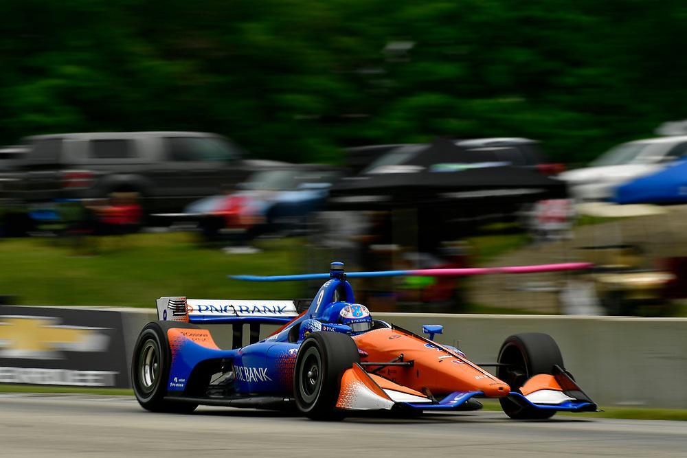 Scott Dixon, Chip Ganassi Racing Honda<br /> Friday 22 June 2018<br /> KOHLER Grand Prix at Road America<br /> Verizon IndyCar Series<br /> Road America WI USA<br /> World Copyright: Scott R LePage
