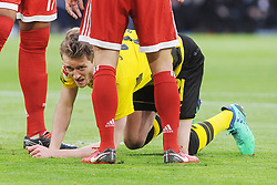 31.03.2018, Allianz Arena, Muenchen, GER, 1. FBL, FC Bayern Muenchen vs Borussia Dortmund, 28. Runde, im Bild Andre Schuerrle (Borussia Dortmund #21) am Boden // during the German Bundesliga 28th round match between FC Bayern Munich and Borussia Dortmund at the Allianz Arena in Muenchen, Germany on 2018/03/31. EXPA Pictures © 2018, PhotoCredit: EXPA/ Eibner-Pressefoto/ Stuetzle<br /> <br /> *****ATTENTION - OUT of GER*****