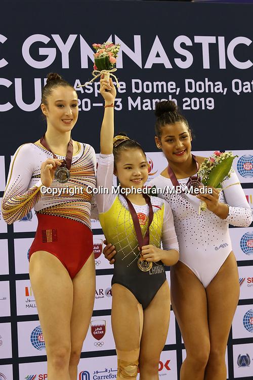 12th FIG Artistic Gymnastics World Cup Doha Qatar, 23rd March 2019