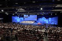 18 NOV 2003, BOCHUM/GERMANY:<br /> Uebersicht SPD Bundesparteitag, Ruhr-Congress-Zentrum<br /> IMAGE: 20031118-01-085<br /> KEYWORDS: Parteitag, party congress, SPD-Bundesparteitag, Übersicht, Halle