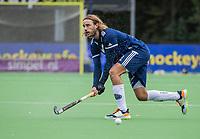 AMSTELVEEN - Pieter Sutorius (Pinoke)   tijdens   hoofdklasse hockeywedstrijd mannen, Pinoke-Kampong (2-5) . COPYRIGHT KOEN SUYK