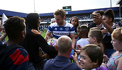 2 September 2017 - Charity Football - Game 4 Grenfell - Olly Murs is mobbed by fans after full time - Photo: Charlotte Wilson