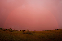 Rainbow at Prypiat river, Belarus