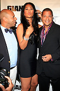 Kimora Lee Simmons, Emil Wilbekin and Alfred Liggins at The Giant Magazine Party, celebrating cover girl Kimora Lee Simmons and new Editor-in-Chief Emil Wilbekin, the award-winning editor as he unveils his debut issue.