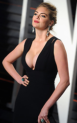 Kate Upton arrives at the 2016 Vanity Fair Oscar Party Hosted By Graydon Carter at Wallis Annenberg Center for the Performing Arts on February 28, 2016 in Beverly Hills, California. EXPA Pictures © 2016, PhotoCredit: EXPA/ Photoshot/ Dennis Van Tine<br /><br />*****ATTENTION - for AUT, SLO, CRO, SRB, BIH, MAZ only*****