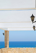 Balcony by sea in Latchi, Cyprus