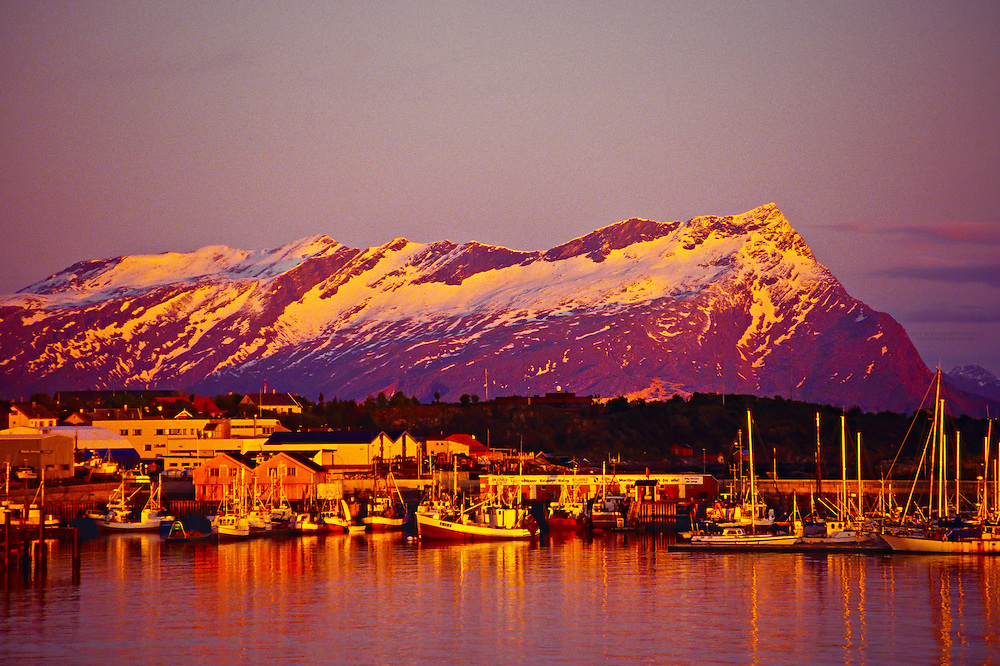 Bodo, Arctic, Northern Norway (during Midnight Sun)