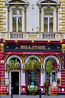 République d'Irlande, Dublin, Dame street, le Millstone restaurant // Republic of Ireland, Dublin, Dame street, The Millstone restaurant