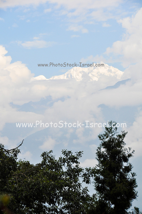 Darjeeling, West Bengal, India Mountain landscape