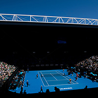A general view of Rod Laver Arena on day nine of the 2018 Australian Open in Melbourne Australia on Tuesday January 23, 2018.<br /> (Ben Solomon/Tennis Australia)