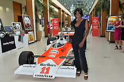 Singer HEATHER SMALL atthe Grand Prix Ball in aid of The Prince's Trust held at The Hurlingham Club, Ranelagh Gardens, London on 6th July 2016.