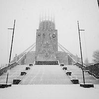 Wintery Liverpool