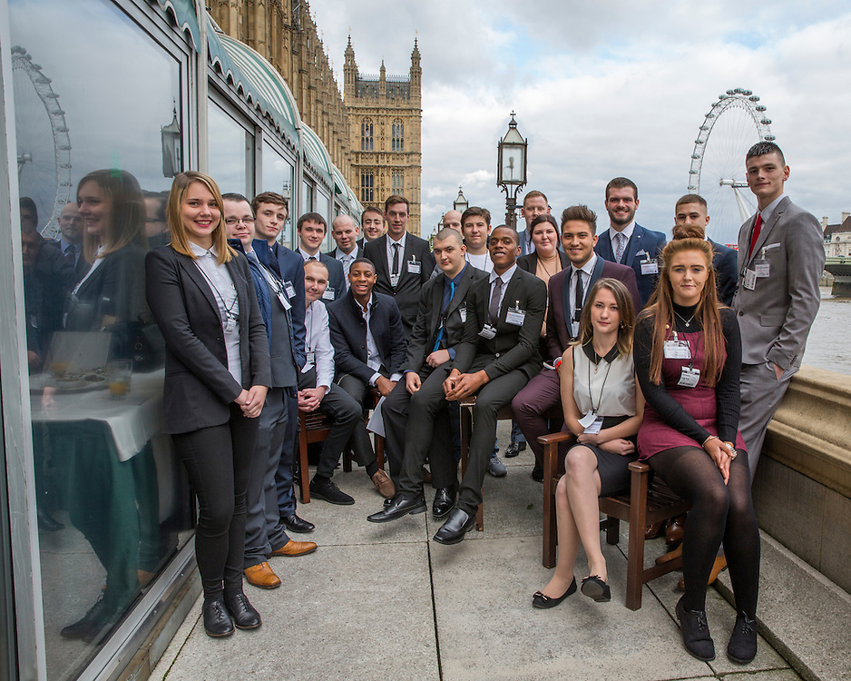 The YBUK Young Builder of the Year Awards 2016, House of Commons, Westminster, London. 19th October 2016