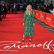 Edith Bowman attend The Romanoffs - World Premiere at CURZON MAYFAIR, London, Uk. 2nd October 2018.