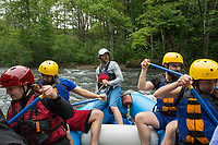 Winni River Days whitewater festival with Mill City Park at Franklin Falls.  Karen Bobotas for the Laconia Daily Sun