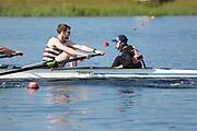 Race: 1  Event: Challenge Eights - Open - Time Trial<br /> <br /> National Schools Regatta 2018<br /> Sunday<br /> <br /> To purchase this photo, or to see pricing information for Prints and Downloads, click the blue 'Add to Cart' button at the top-right of the page. The Metropolitan Regatta 2018 The Metropolitan Regatta 2018