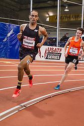Kemoy Campbell, New Balance, mens 3000m, Armory Track Invitational Indoor,
