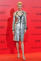 Karlie Kloss attends the VOGUE Spain 30th anniversary party at La Casa de Velazquez in Madrid, Spain on July 12, 2018. Photo by Archie Andrews/ABACAPRESS.COM