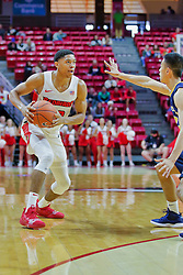 NORMAL, IL - November 03: William Tinsley during a college basketball game between the ISU Redbirds  and the Augustana Vikings on November 03 2018 at Redbird Arena in Normal, IL. (Photo by Alan Look)