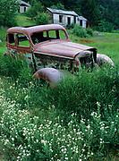Abandoned car in Marysville Montana