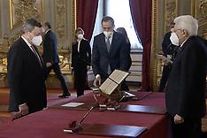 20210213 GIURAMENTO GOVERNO DRAGHI ROMA