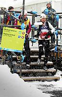 OL 2006 Langrenn kvinner stafett,<br />Pragelato Plan<br />18..02.06 <br />Foto: Sigbjørn Hofsmo, Digitalsport <br /><br />Kristin Stormer Steira  NOR - Norge kommer ut fra doping kontroll