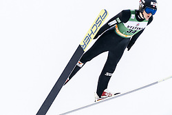 February 8, 2019 - Lahti, Finland - Einar LurÃ¥s Oftebro competes during Nordic Combined, PCR/Qualification at Lahti Ski Games in Lahti, Finland on 8 February 2019. (Credit Image: © Antti Yrjonen/NurPhoto via ZUMA Press)