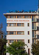 Hotel pod Wawelem, plac na Groblach, Kraków, Polska<br /> Hotel pod Wawelem, square on Groblach, Cracow, Poland