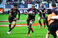 Yannick NYANGA - 24.04.2015 - Stade Francais / Stade Toulousain - 23eme journee de Top 14<br />