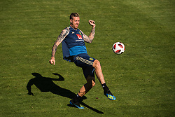 July 4, 2018 - Gelendzhik, Russia - 180704 Pontus Jansson of the Swedish national football team at a practice session during the FIFA World Cup on July 4, 2018 in Gelendzhik..Photo: Petter Arvidson / BILDBYRÃ…N / kod PA / 92081 (Credit Image: © Petter Arvidson/Bildbyran via ZUMA Press)